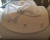 White or Ivory Christening Bag