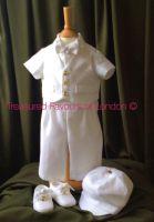 Bespke White Linen Suit