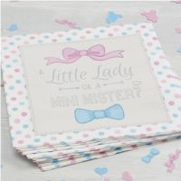 Paper Napkins Little Lady or Mini Mister