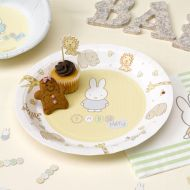 Baby Miffy Paper Plates