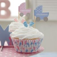 Tiny Feet Cup Cake Sticks