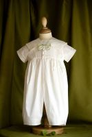 Michael Boys Christening Romper