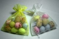 Organza Bag with Mini Eggs Easter Favour
