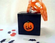 Halloween Favour Box with Pumpkin