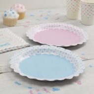 Paper Plates Little Lady or Mini Mister