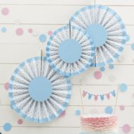 Blue Spotty Hanging Decoration