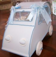 Little Car Christening Box