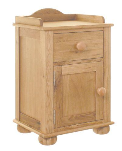 Amelie Oak Bedside Cabinet