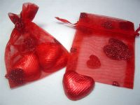 Heart Organza Bag