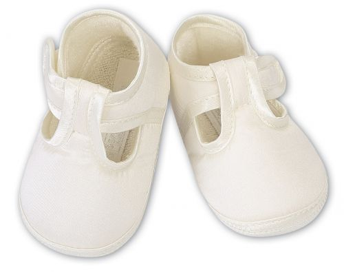 Boys T Bar Charistening Shoes