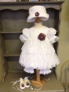 Vintage Lace Bloomer Set