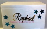 Personalised Wooden Christening Box