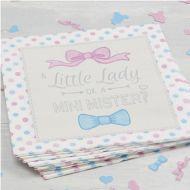 Little Lady or Mini Mister Paper Napkins