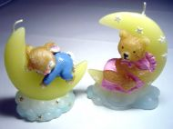 Moon Candle Children's Favour