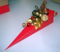 Cone Shape Christmas Favour