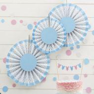 Blue Spotty Hanging Decoration
